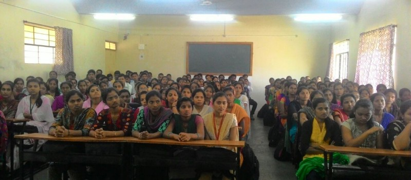 Introduction of Wagons and Team to students by College member.