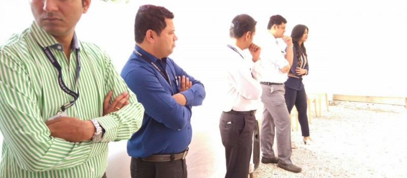 Team Wagons and Team HDFC Interaction with candidates.