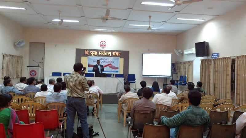 workshop witnessed gathering of businessmen, traders, students