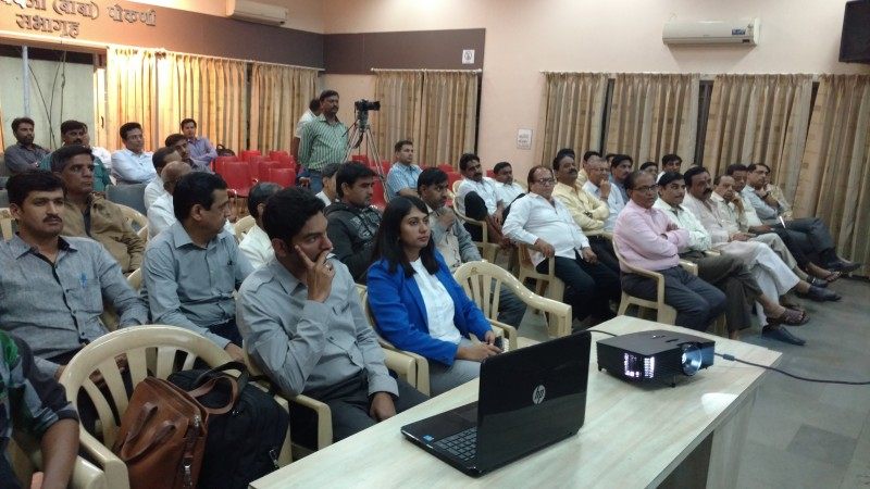 Audience Engrossed in the Training Programme