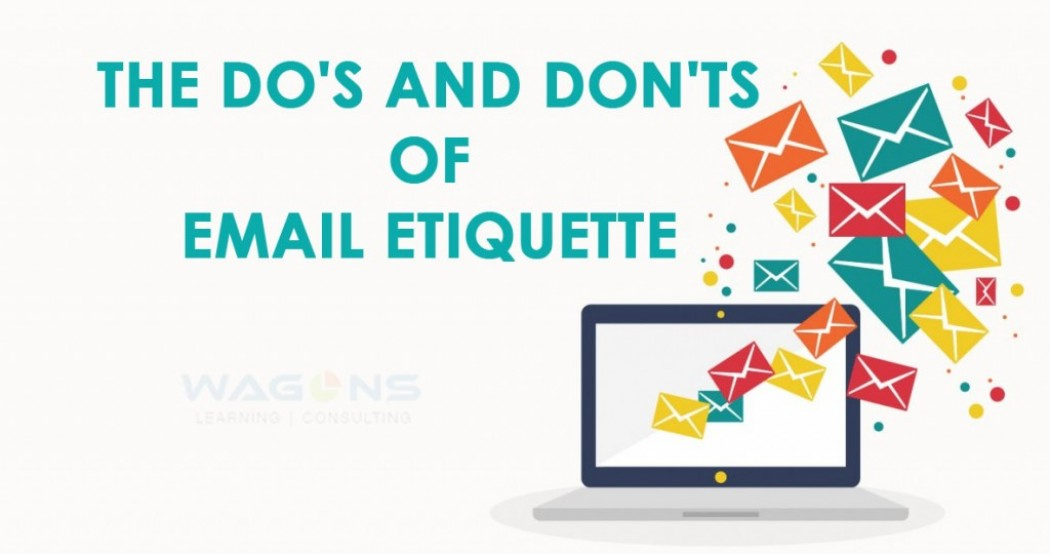 The Do's and Don'ts of Email Etiquette