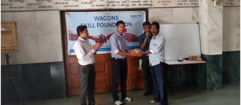 Organizers welcomes CSR executive from Wagons skill foundation