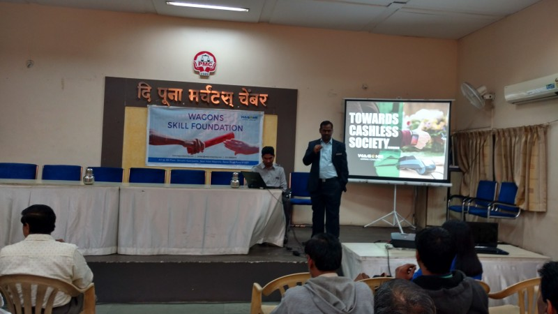 Speaker addressing the gathering