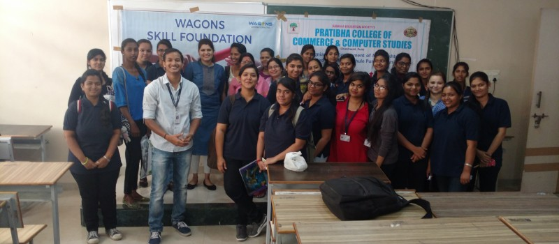 Mr. Rajkumar Dalvi and Mrs. Jaishree with participants