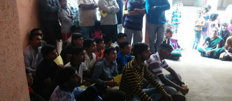 All the students from privileged enjoying the training of Wagons Skill Foundation.